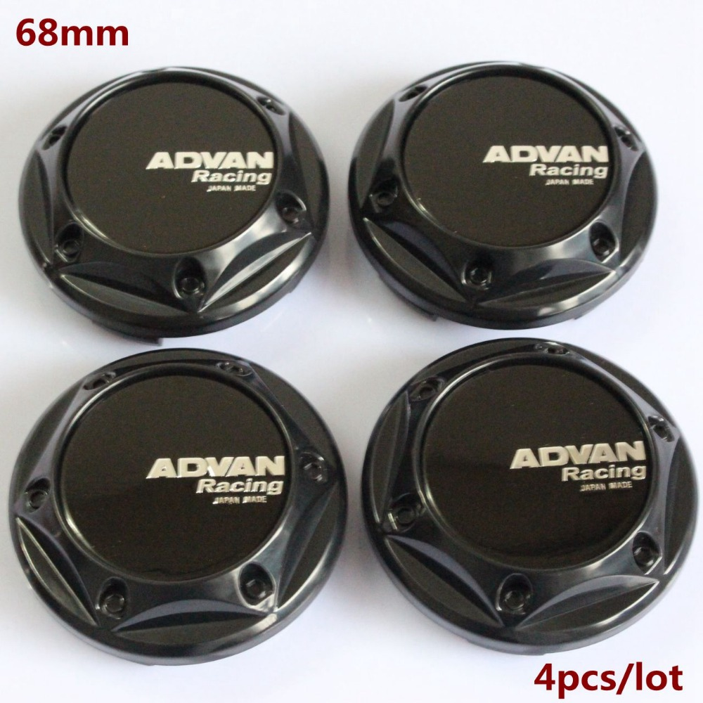 Kom Power 68mm Advan Sticker Emblem Wheel Center Cap Hub