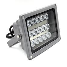 SMTSEC 15 шт. светодиодный 70 м cctv высокой мощности свет лампы белый светодиодный осветитель для cctv камеры безопасности системы ночного видения SI-15W