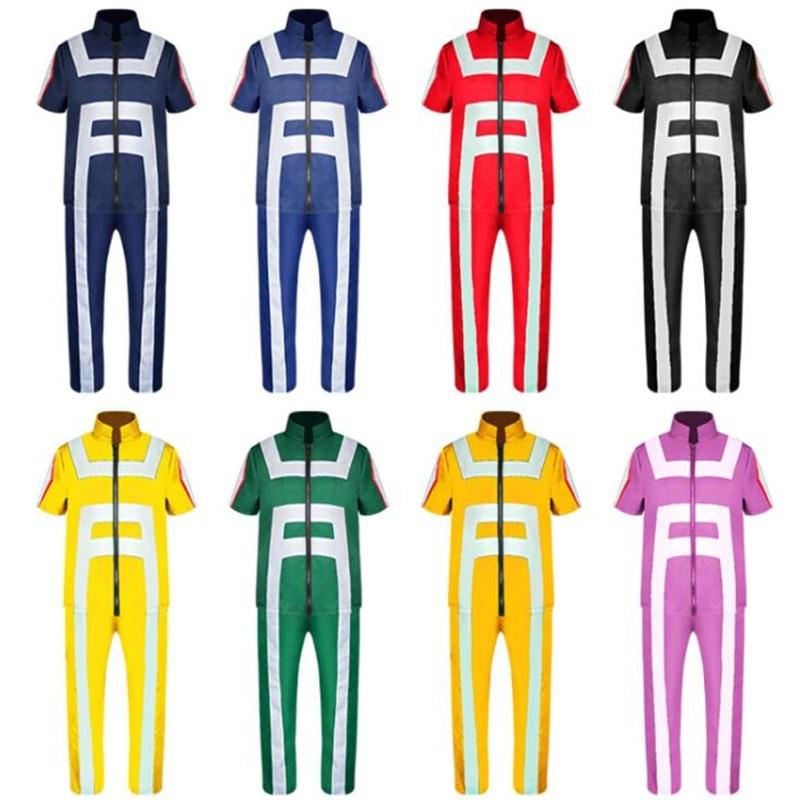 Anime Cosplay My Hero Academia Bakugou Katsuki Todoroki Shoto Costume Adult Uniform Suits Halloween Party Clothes Coat + Pants