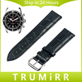 Genuína Pulseira De Couro 18mm 20mm 22mm 24mm + Ferramenta para faixa de Relógio Breitling Pulseira Croco Correia de Pulso Pulseira Marrom Preto vermelho