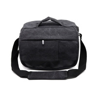 DSLR Canvas Camera Bag Case For SONY A99II a5000 a6000 a6300 a6500 NEX 3F 3N 5R 5T 5C 6/7 18 200/55 210 Lens A77 A7R A65 A57 A58