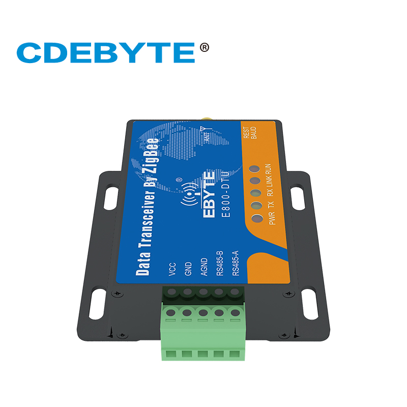 Image 2 - Zigbee CC2530 Module E800 DTU(Z2530 2G4 20) RS485 240MHz 20dBm Mesh Network  Ad Hoc Network 2.4GHz Zigbee rf Transceiver-in Fixed Wireless Terminals from Cellphones & Telecommunications