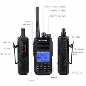 Image 3 - راديو رقمي RETEVIS RT3 DMR (جي بي إس) لاسلكي تخاطب UHF (أو VHF) جهاز إرسال واستقبال محمول باليد مع TYT MD 380 MD 380
