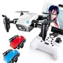 S9HW мини Квадрокоптер WiFi fpv карманный микро-Дрон без HD Камера S9 без Складная камера Радиоуправляемый квадрокоптер высота вертолет