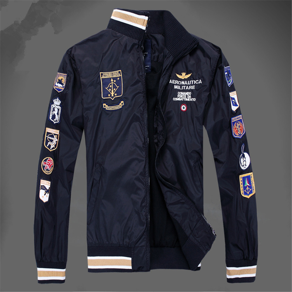 Aviation industry militare air force one polo men 39 s blazer for Italian dress shirts brands
