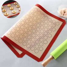 Silicone Baking Mats Sheet Bakeware Oven Liner Pad Non Stick Cookie Tray Mat NEW mutfak malzemeleri(China)