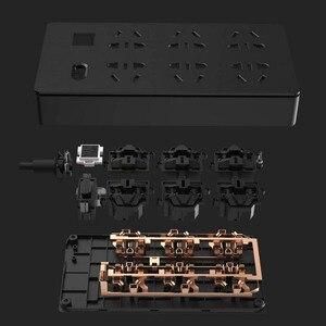 Image 4 - Originele Youpin Tp 6 Poorten Stopcontact Overbelasting Bescherming 750 Vertrager Vlam Thuis Elektronische Extension Socket Zwart