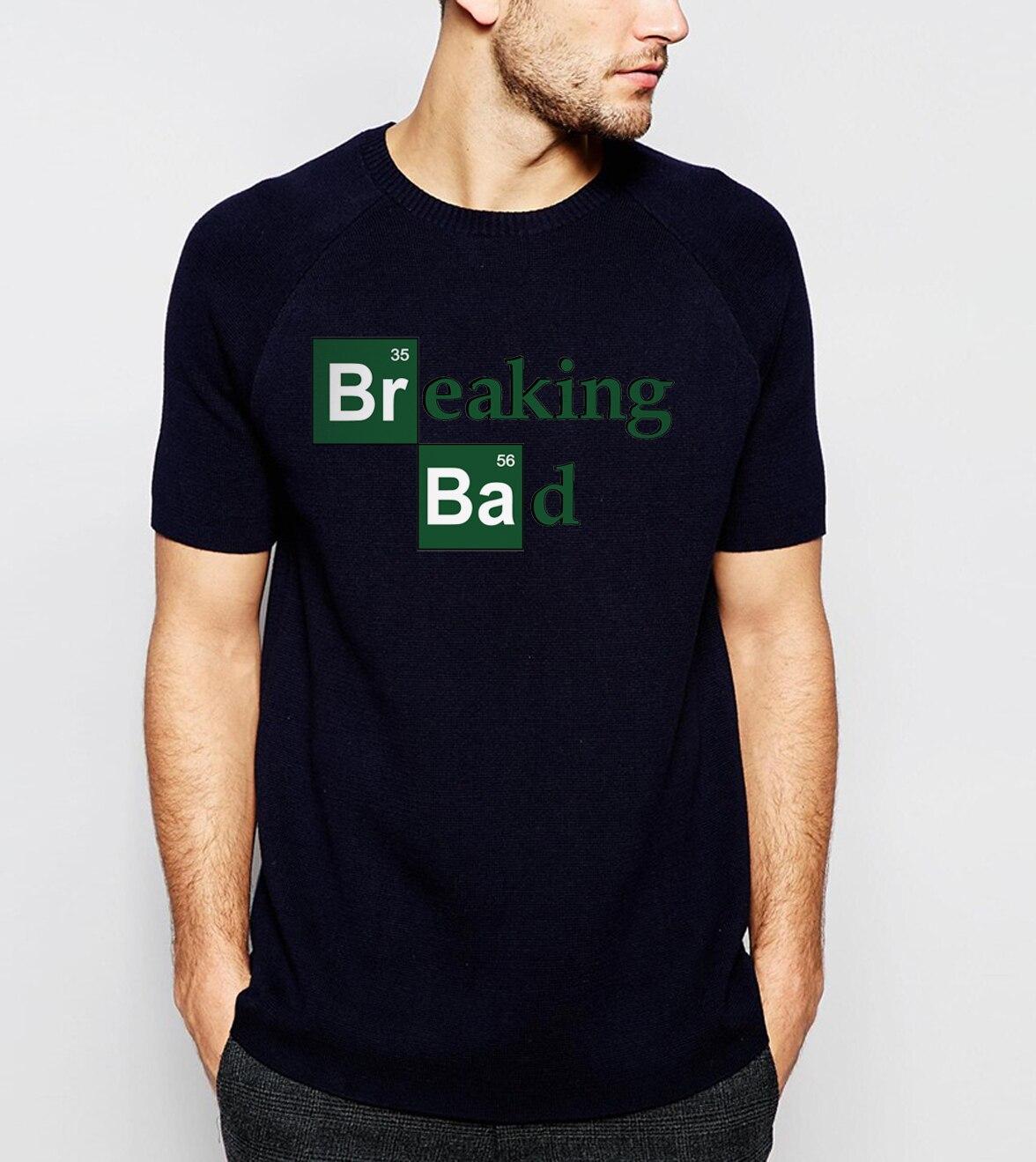 Hot Sale Breaking Bad Heisenberg Men T Shirts 2019 Summer Fashion Casual 100% Cotton  T-Shirt Streetwear Slim Fit Top Tees S-3XL