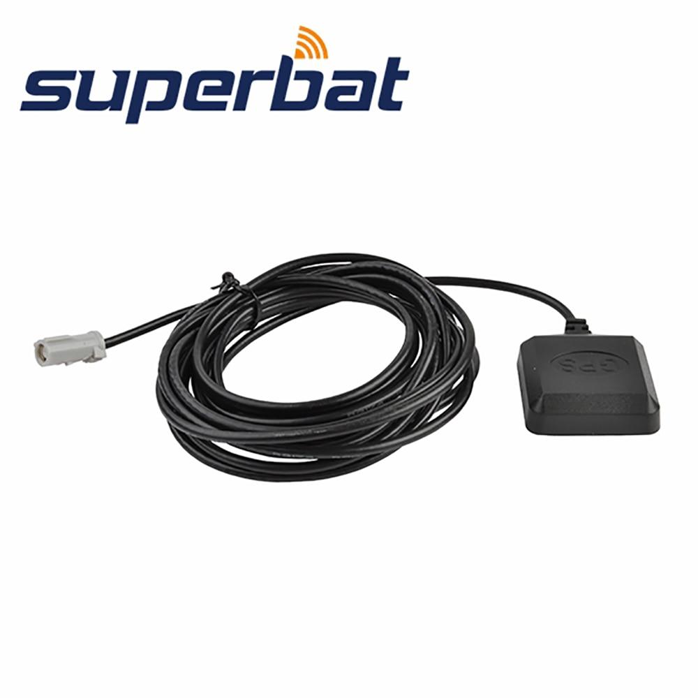 Superbat Car Mini GPS Antenna AVIC Aerial Signal Booster 3M For Pioneer AVIC D1 D2 D3 Z1 Z2 N1 N2 N3 N4 N5 90DVD 80DVD 9DVD 8DVD