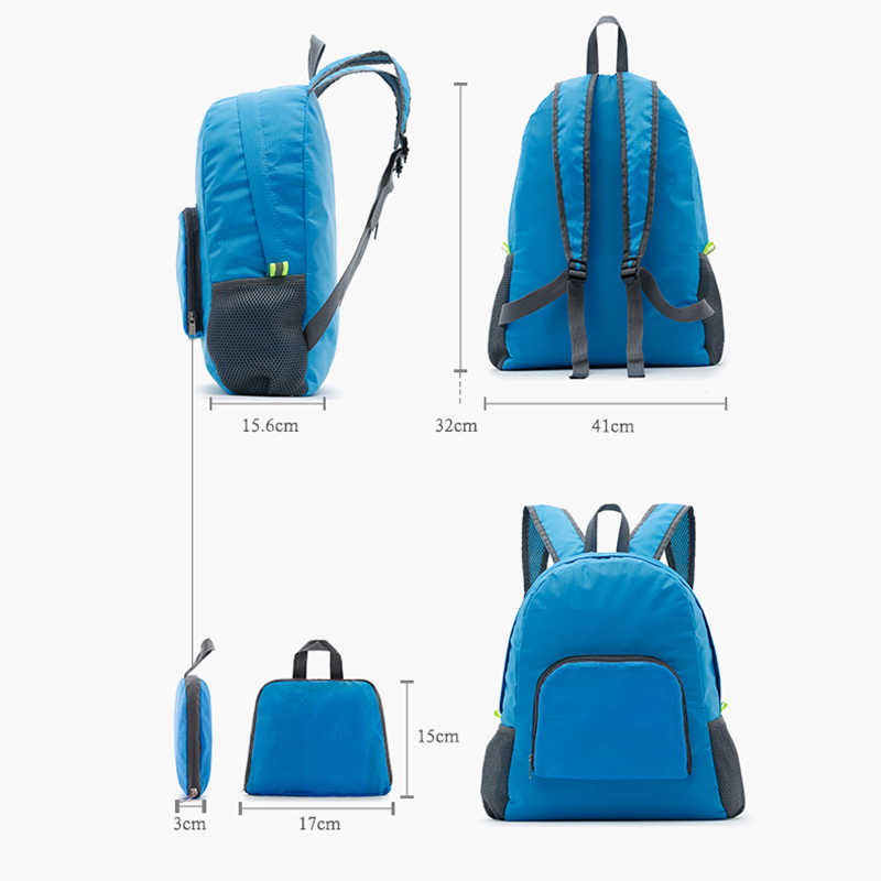 4e0cf2d336f9 ... Casual Backpack Women Leisure Travel Folding Backpacks For Girls school  Bags Nylon Waterproof Trave High Quality ...