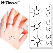 Vente En Gros Moon And Sun Temporary Tattoo Galerie Achetez A Des