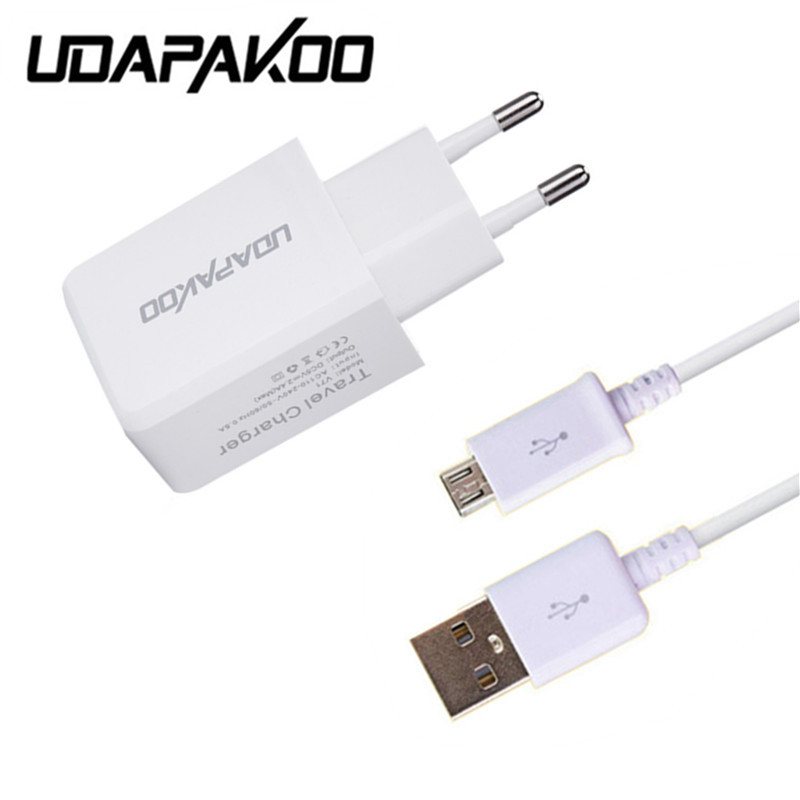 100% Good <font><b>2A</b></font> EU/US <font><b>Wall</b></font> <font><b>Charger</b></font> Adapter &#038; Micro USB data Cable for Huawei p8 P9lite lg x power For Samsung Galaxy S4 S3 A5 j7