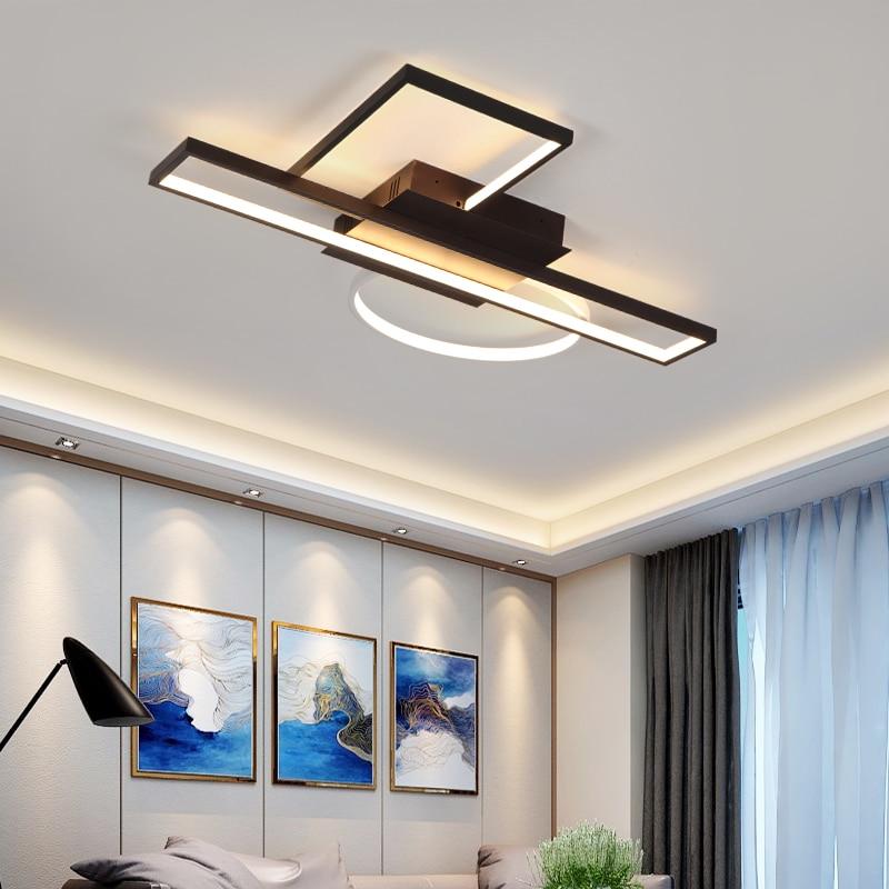 modern chandelier light For living room bedroom Study room Chandelier Lighting Fixture AC110 265V 2018 new Creative combination-in Chandeliers from Lights & Lighting