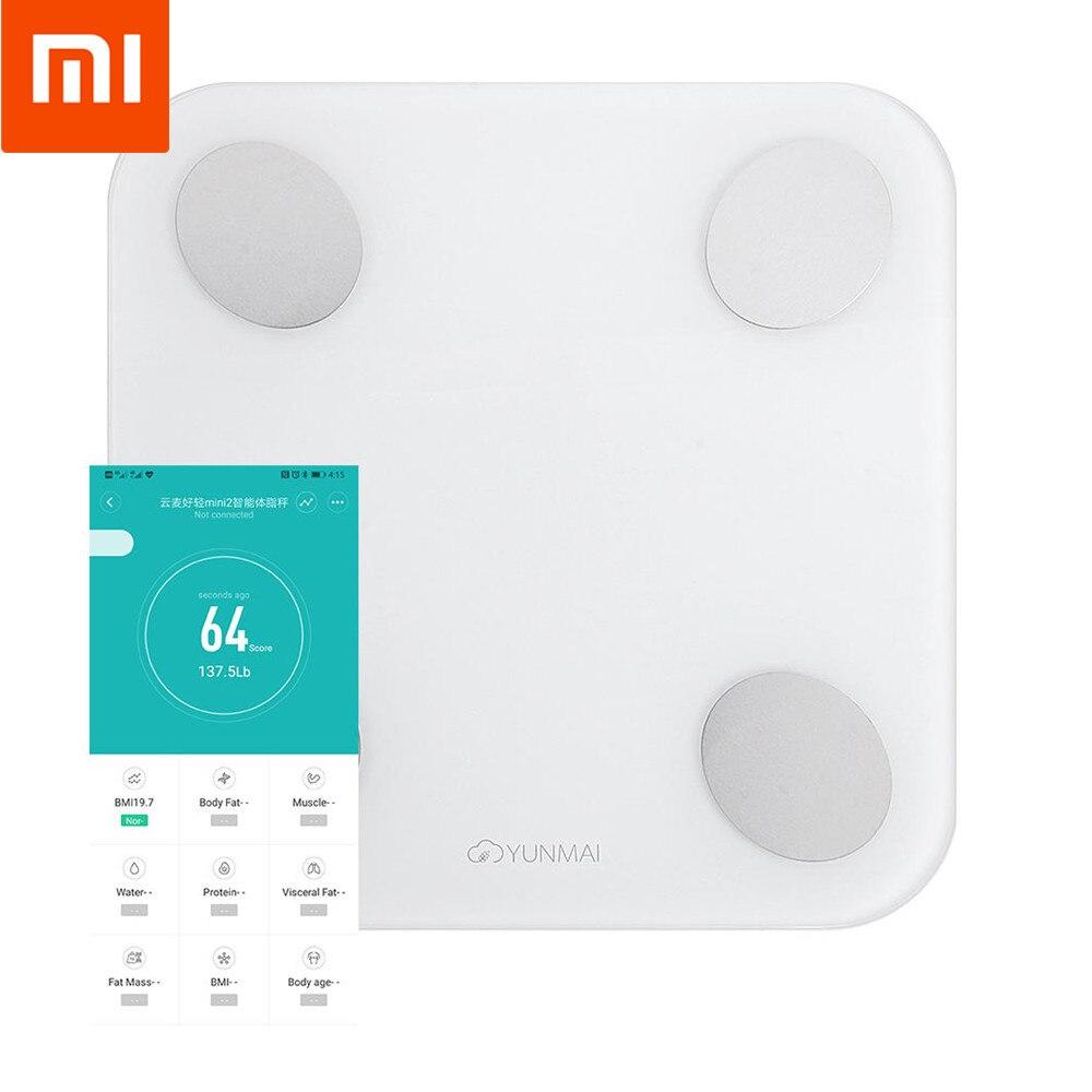 XIAOMI Body-Fat-Scale Body-Composition Bluetooth Yunmai Mini Smart 2 Digital With International