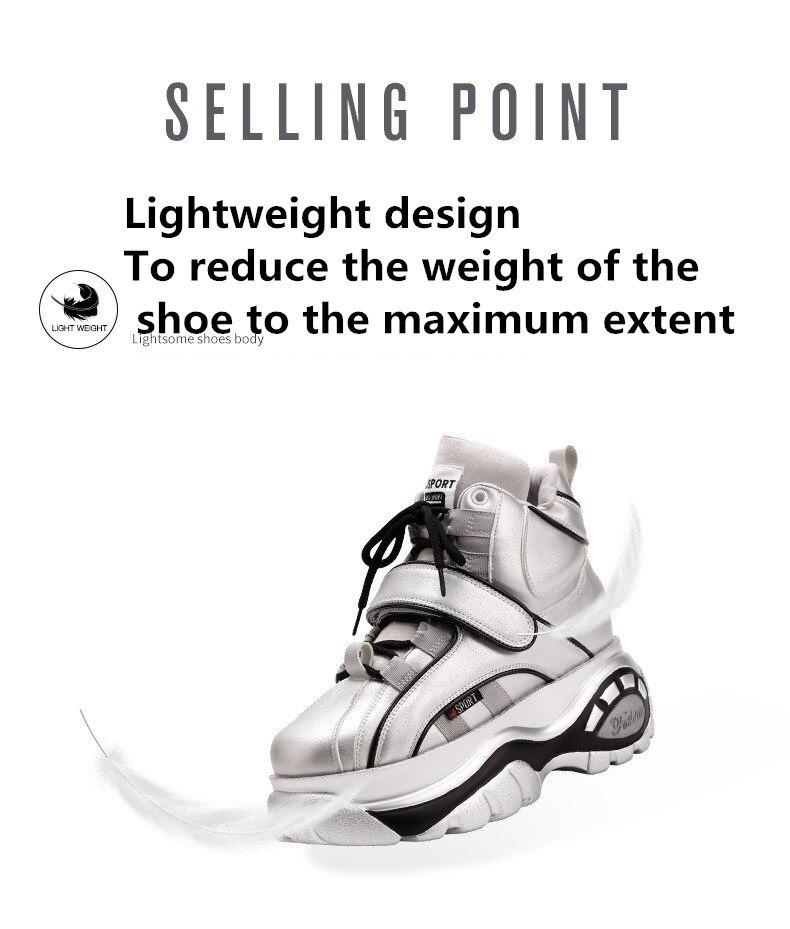 Shop Cheap sale Retro Thick Platform Chunky Sneakers