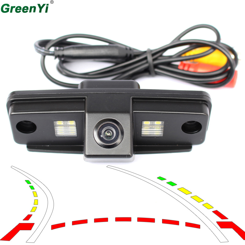 цена на Dynamic Track Backup Rear View Camera Parking For Subaru Forester Outback 2008 2009 2010 2011 2012 Impreza Sedan Legacy 2