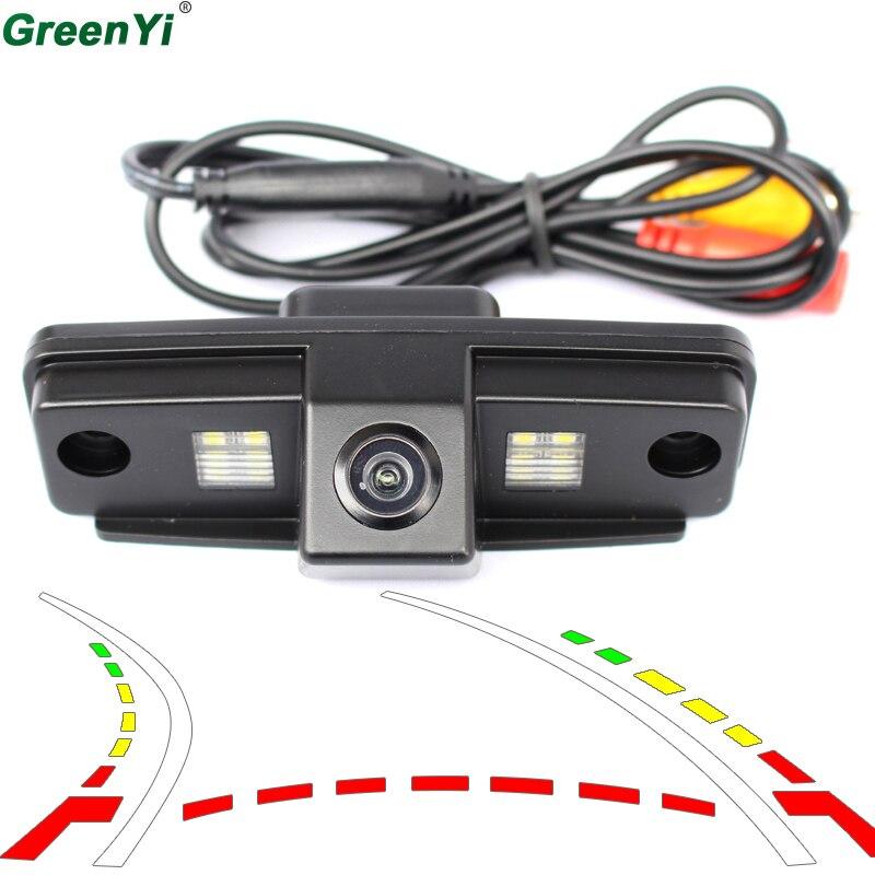 Dynamic Track Backup Rear View Camera Parking For Subaru Forester Outback 2008 2009 2010 2011 2012 Impreza Sedan Legacy 2
