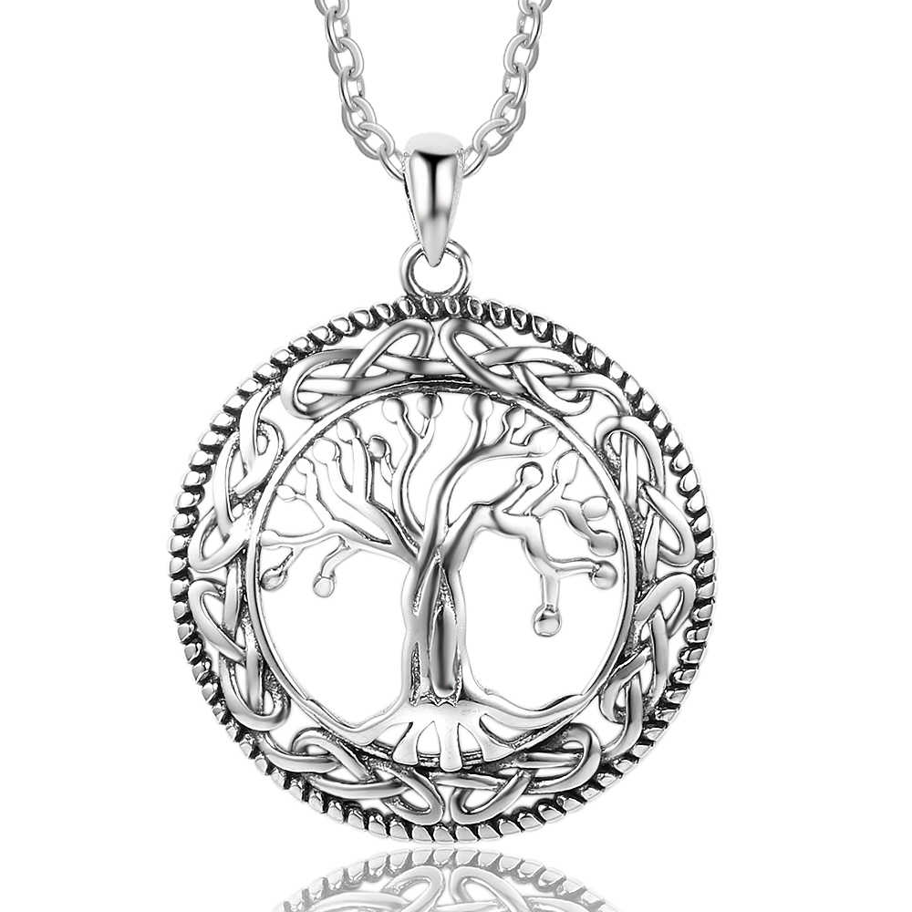 Fashion Necklace Tree of Life Pendants & Necklace For Women 26mm Pendants Exquisite Jewelry Gift For Women Mom(NE101908)