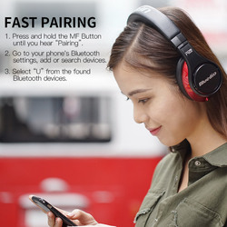 Original Bluedio UFO Bass Bluetooth Headphones 8 Speaker HIFI Bluetooth Headset Headset Wireless 3D Surround Headset for Mobile