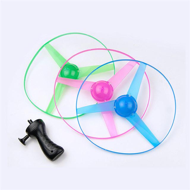 Flashing LED Flying Saucer Toy