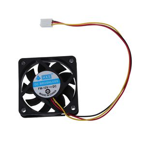 Image 2 - 60mm x 60mm x 15mm 3 Pins Cooling Fan w Metal Finger Guards