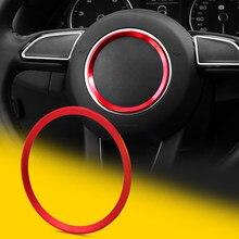 Центральная декоративная крышка рулевого колеса, отделка салона автомобиля для Audi A1 A3 S3 A4 A5 S5 A7 S7 Q3 Q5 TT