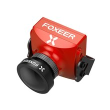 Foxeer Cat 2.1mm Auto Dapting Starlight Professional Night Flight Fpv Camera Low Latency 16:9/4:3 Pal/Ntsc Switchable foxeer predator v3 racing all weather fpv camera 16 9 4 3 pal ntsc switchable super wdr osd 4ms latency remote control