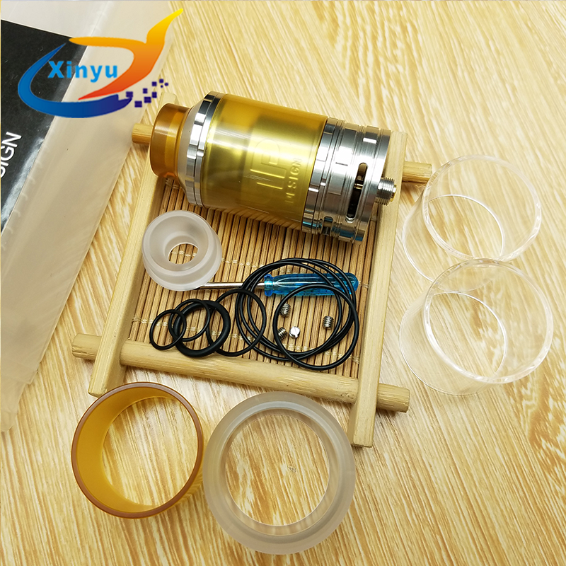 2PC Fatality RTA 28mm Diameter 316ss 8ml Capacity Replaceable Tank Atomizer Multi Coil Configuration Adjustable Quad Airflow fatality by firelight