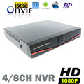 CCTV IP NVR 4CH 8CH 9CH full hd 1080p Network Video Recorder 4Channel 8 Channel for IP Camera kamepa NVR Surveillance 2MP SPSR