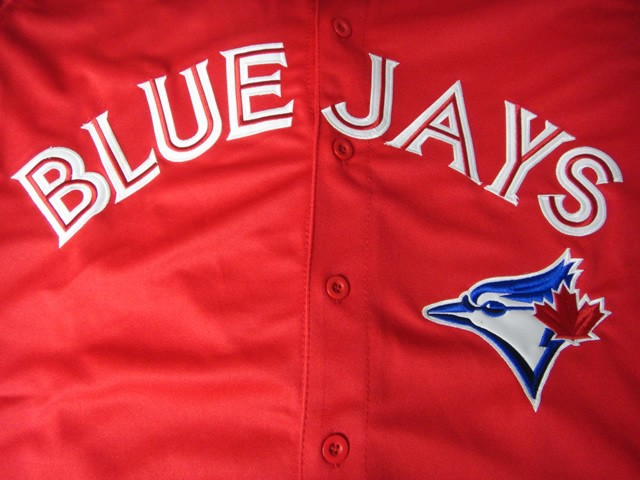 2267990d6 Personalized Toronto Blue Jays Custom Jersey Any Name Any Number Customized  Shirts Blue White Gray Red Make From Factory-in Baseball Jerseys from  Sports ...