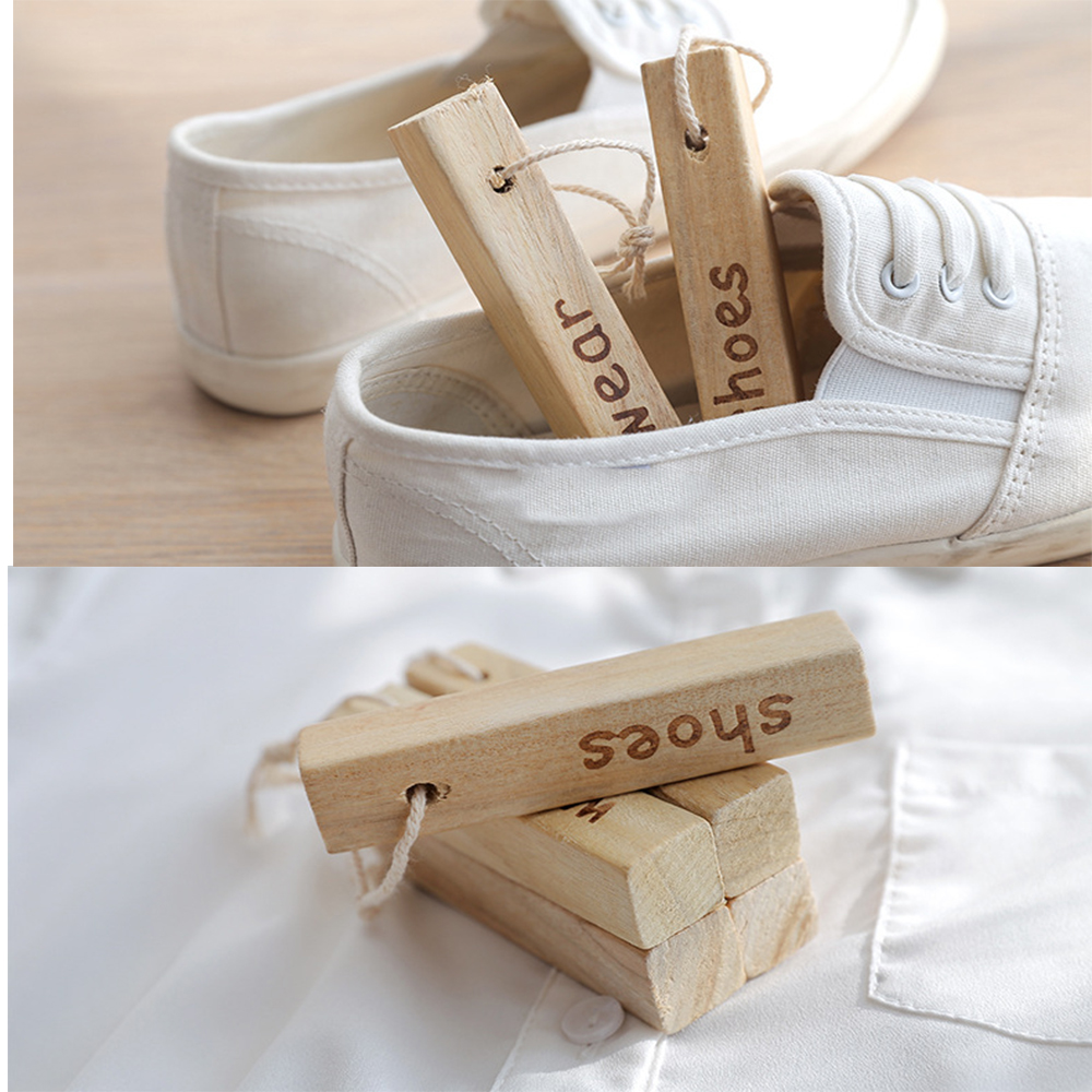 Wear Shoes Camphor Wood Camphor Wood Sticks Aromatic Wood Bar Camphor Wood Block Cockroach Deodorization Shoes Repel Insects