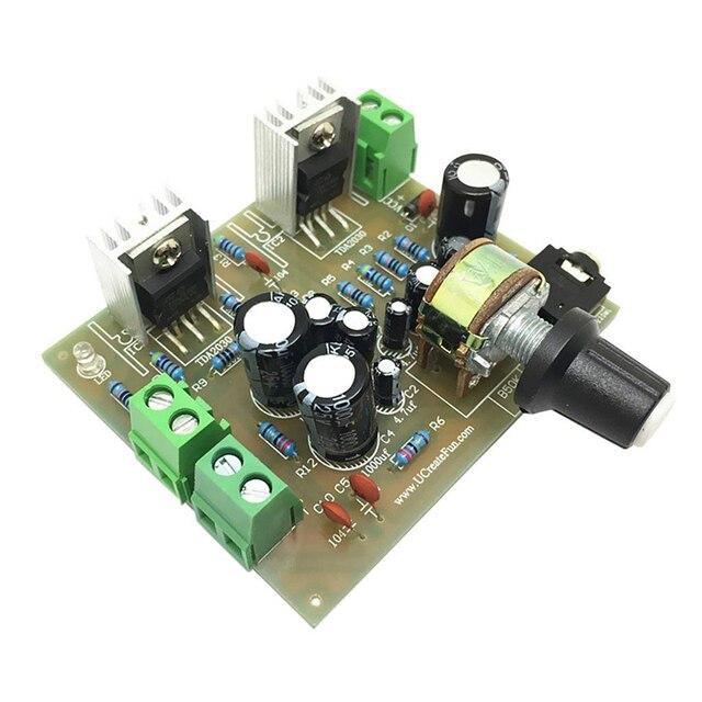 tda2030a dc12v amplifier board 15w 15w dual channel track stereo