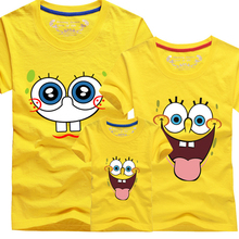 Minions famili look Boys Girls T Shirt Plus Mom And Me Father and Son Suits Mother