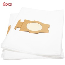 6 pcs microfiber fit for Kirby Sentria, Ultimate G Vacuum Cleaners Style F HEPA Dust Bags 204811G