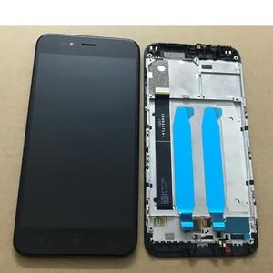 Image 3 - Xiaomi Mi A1 MiA1 5X Mi5X SensorจอแสดงผลLCDหน้าจอสัมผัสDigitizerประกอบกับกรอบสนับสนุน 10 Touch & backlight MDE2