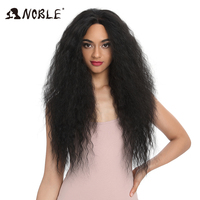 Noble Hair Lace Front ombre blonde Wig 30 inch Long wavy red african american Synthetic Wigs For Women Synthetic Lace Front Wig