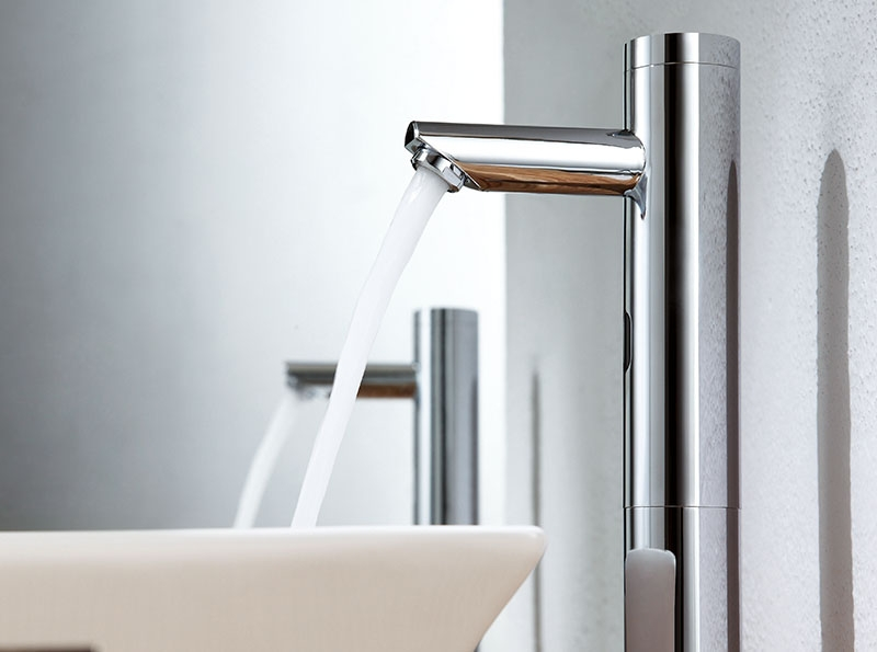 Brass Touch Free Infrared Basin Tap Automatic Sensor Faucet,Sink Taps,Touchless  Bathroom Sink Vessel Faucet, Chrome Finish In Basin Faucets From Home ...