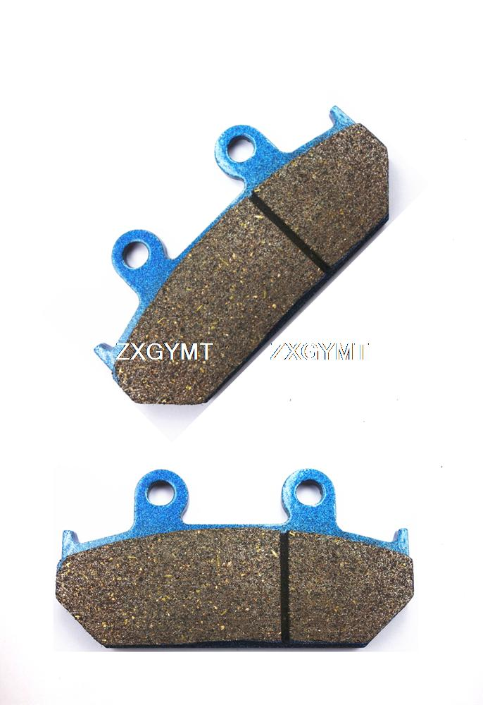 Motorcycle Semi Met Rear Disc Brake Pads for <font><b>SUZUKI</b></font> <font><b>AN650</b></font> AN 650 A <font><b>Burgman</b></font> Executive 2004 - 2012 image