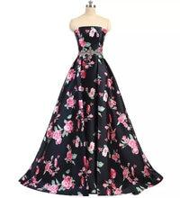 Женское бальное платье с цветочным принтом 16 цветов qa1555