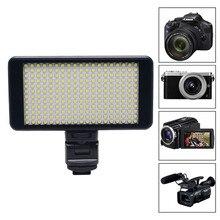 Mcoplus LED-228 LED Video Light Portable Photos Photography Lighting for Canon Nikon DSLR Camera & charge mobile phone ipad