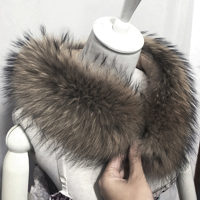 High Quality Women Fashion Winter and Autumn Warm Faux Fox Fur Two Collars Select   Scarf     Wrap   Shawl Shrug Hat Decor   Scarves