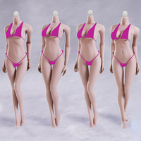 Big Bust 12 Flexible European Shape Female Seamless Body POM Skeleton For 1/6 Action Figure Toy TBLeague/Phicen/JIAOUL Doll