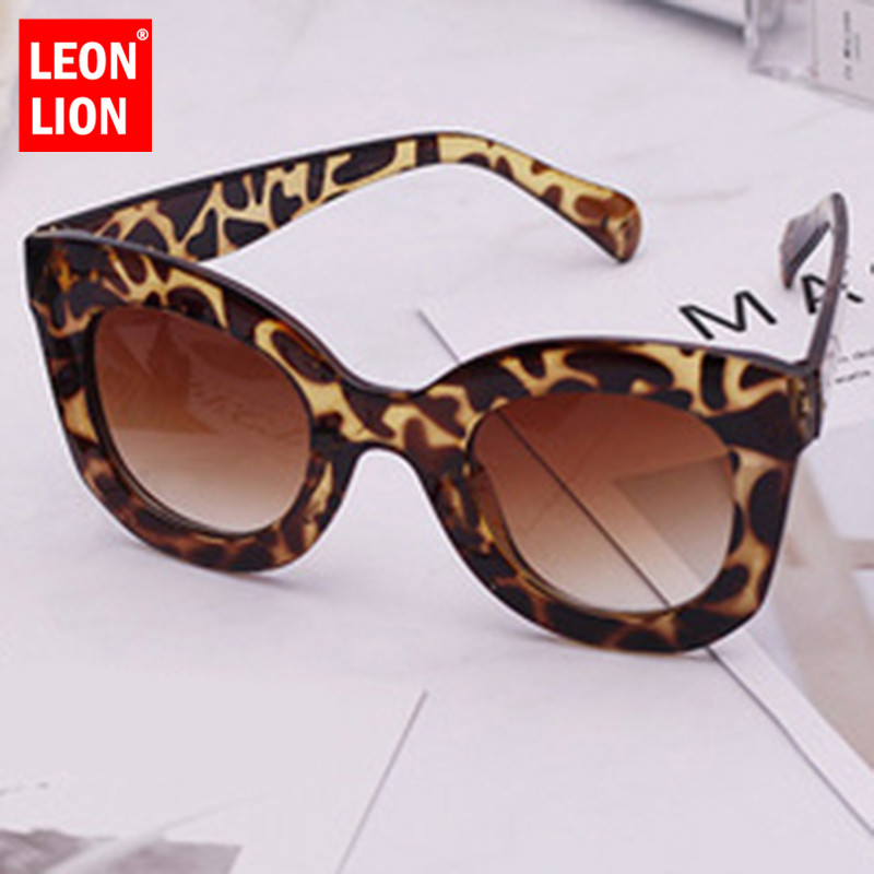 LeonLion 2019 Round Frame Sunglasses Women Retro Trend Street Beat Classic Outdoor Sun Glasses UV400 Oculos De Sol Masculino