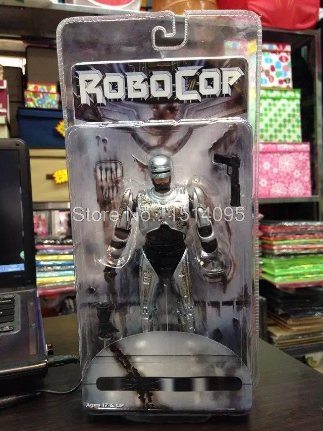 NECA 7 RoboCop Murphy PVC Action Figure Collectible Model Toy Doll neca the texas chainsaw massacre pvc action figure collectible model toy 18cm 7 kt3703