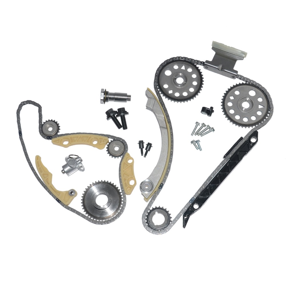 Timing Chain Kit Fits Saturn ION L100 L200 VUE,Chevrolet Cavalier Cobalt HHR,Pontiac G5 Sunfire 2.2L 00-11 w//Gears