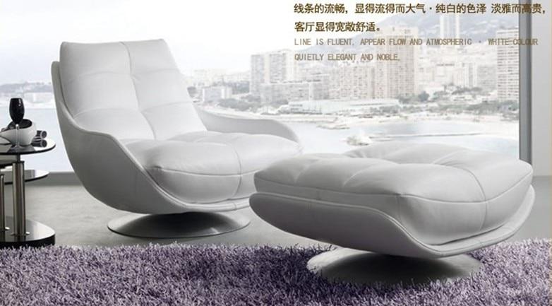 Besplatna dostava Luksuzni biserni sjajni kauč od prirodne kože - Namještaj - Foto 4
