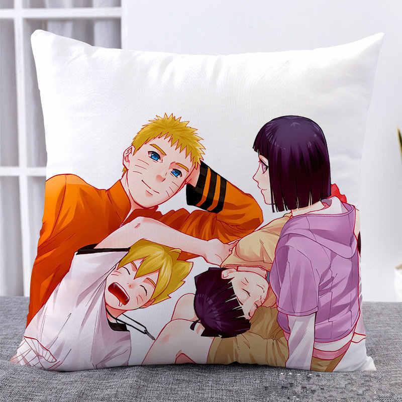Amellor Mignon 45x45 Cm Anime Boruto Naruto Hyuga Hinata 3d Imprimer Housse De Coussin Carre En Lin Tissu Coussin Maison Pas Cher Oreiller Cadeaux