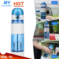 Leak Proof Seal 580ml Tea Pot Sport Bicycle Plastic Tritan Water Bottles Cup With Cover Lip