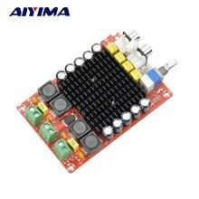 Aiyima TDA7498 класса D высокой мощности Цифровой усилитель доска 2*100 Вт Автомобильные усилители DC14-34V