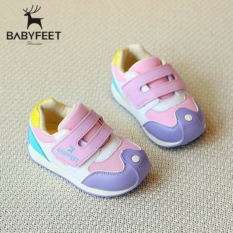 2017 babyfeet Spring and Autumn children sneakers baby girls Child toddler casual shoes breathable PU Leather boys sports shoes classic casual baby shoes toddler newborn polka dots baby girls autumn lace up first walkers sneakers shoes